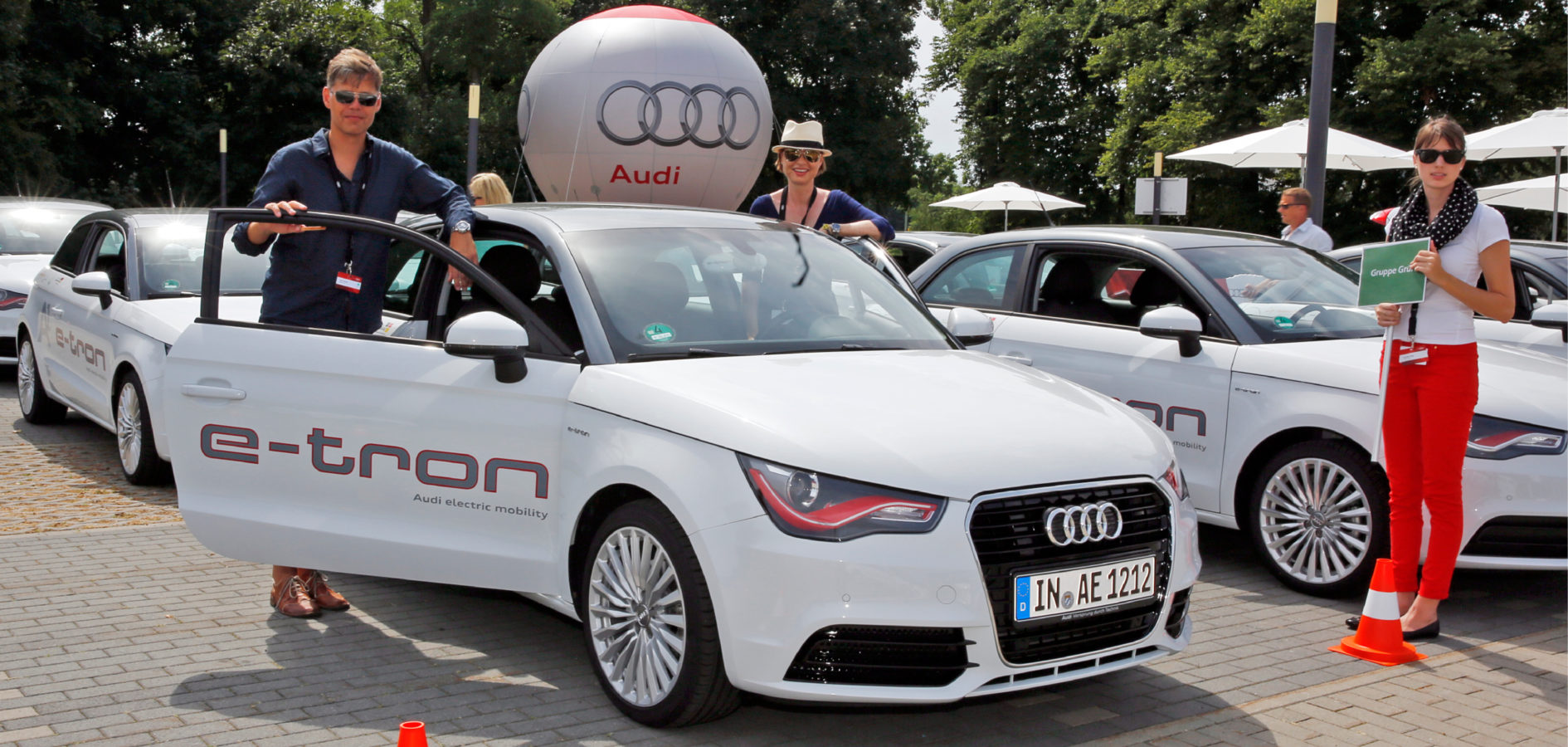 AUDI Schaufensterprojekt e-tron