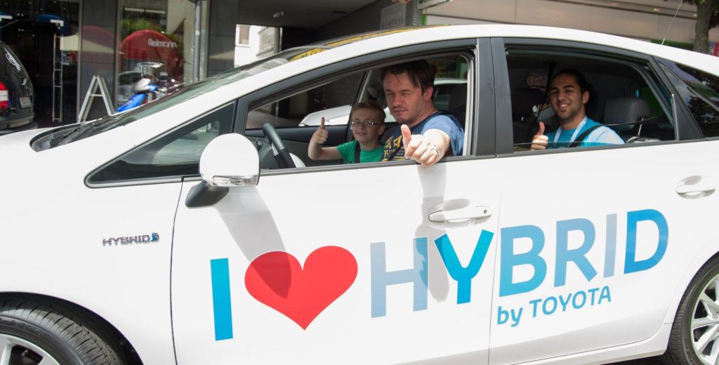 Toyota Hybrid Sommer